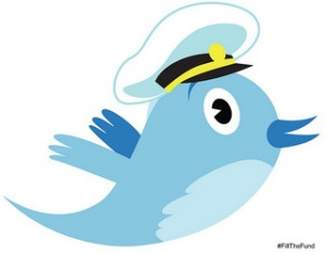 Captain Twitter by Christian Guthier net_efect on Flickr